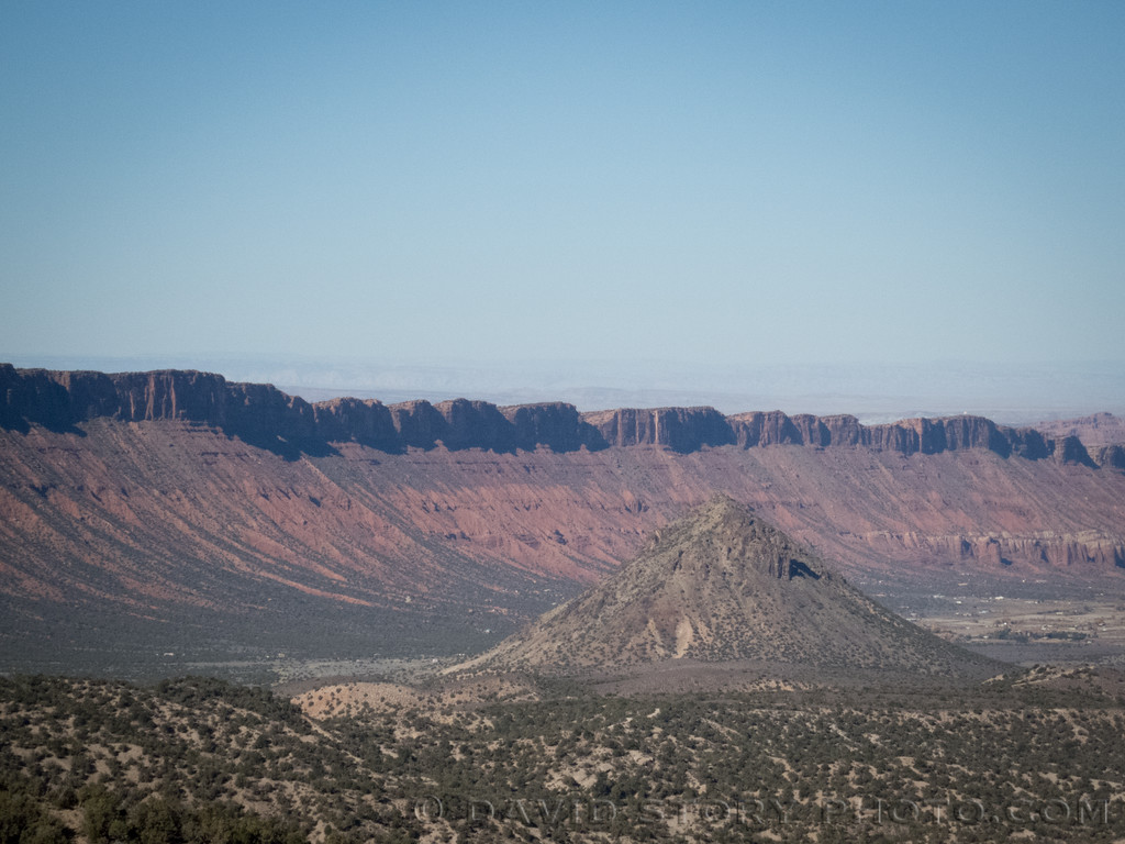 Round Mountain and Porcupine Rim.