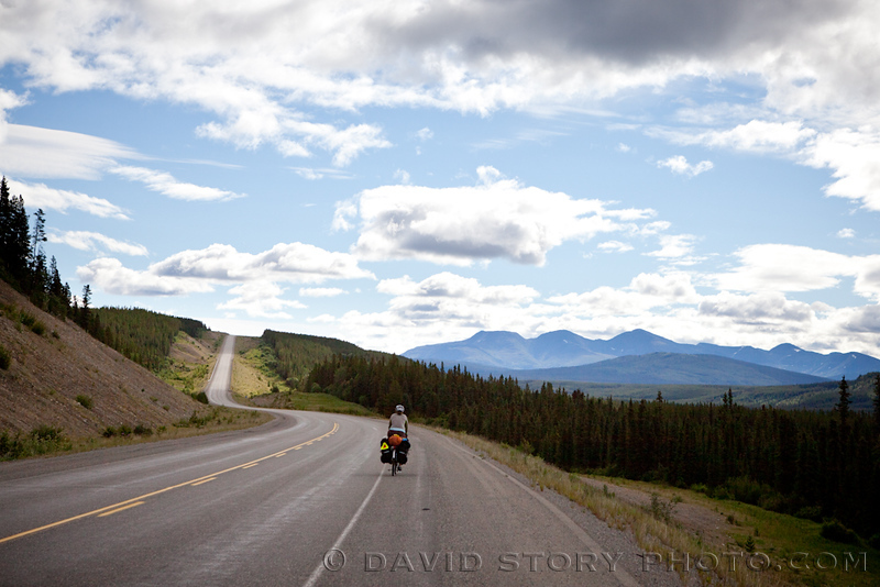 Near the Continental Divide in Yukon.