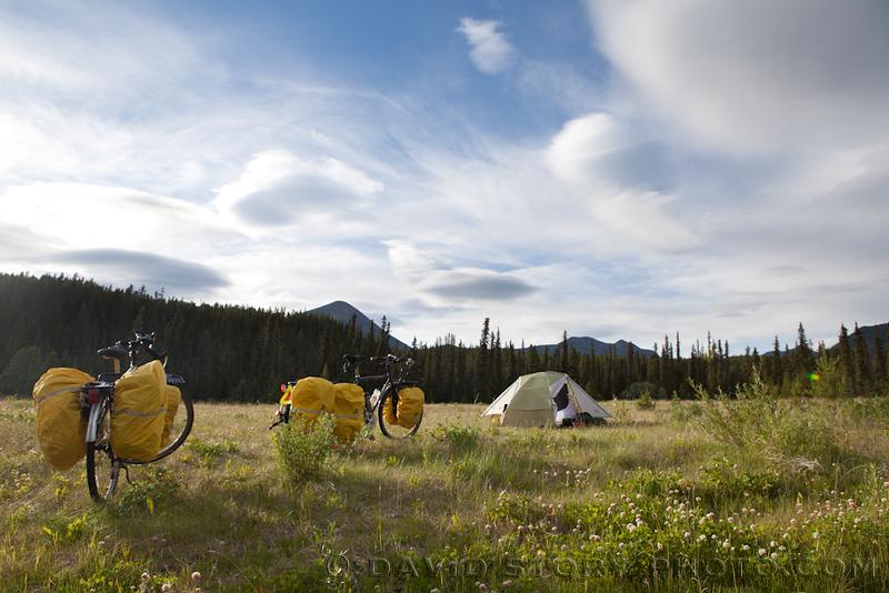 A sweet campsite near Swift River.