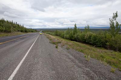 Gunsight to Glenallen was a 65 mile breeze since it was downhill.