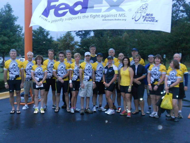 Hernando Bike Club group picture