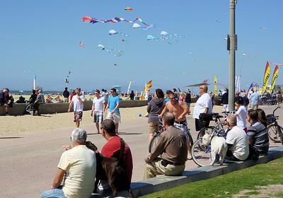 Huntington Beach Kite Party, March 14, 2010.
