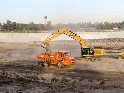 Santa Ana River Dredging 2016
