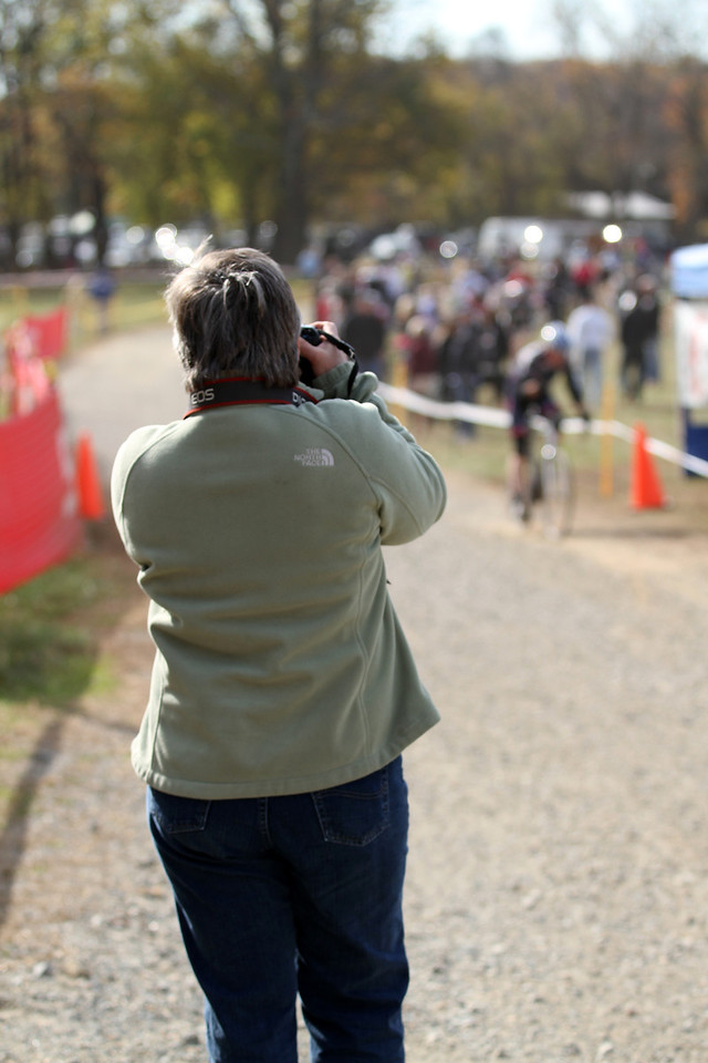 Linda capturing image of Dennis as he finishes  :)