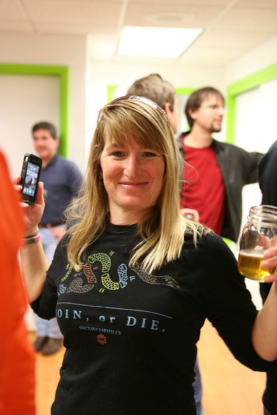 Jill Morgan rocking her SSCXWC shirt!