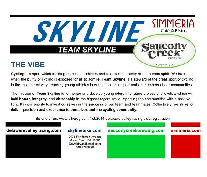 Team Skyline 2014 promo event at Saucony Brewing Co