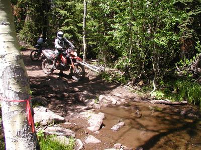 Jim & Uli on Trail 254 1A 06/17/07