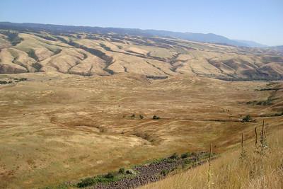 View of of the White Bird terrain.