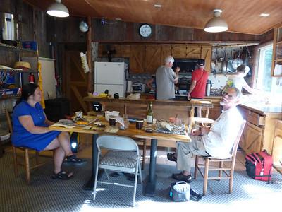 12_Yvonne John in Rec cabin