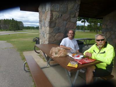 Lunch at Gunn Park