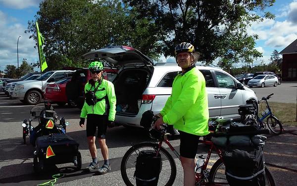 John and Al ready to go