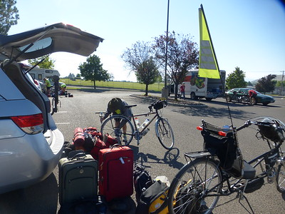 Day 1 La Grande to Catherine Creek SP