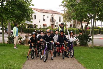 2nd grade bike field trips (Spring 2016)