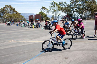 2nd grade bike program in PE