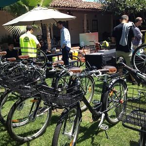 Fleet of bikes for Sonos employees