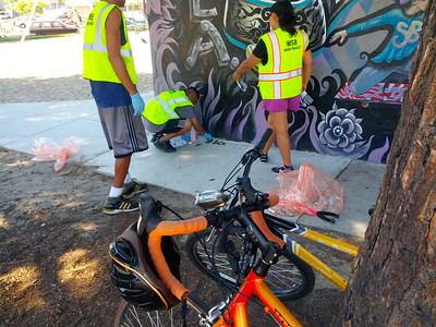 Bike education for Worth Street Reach