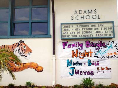 Adams is ready. Go Tigers!