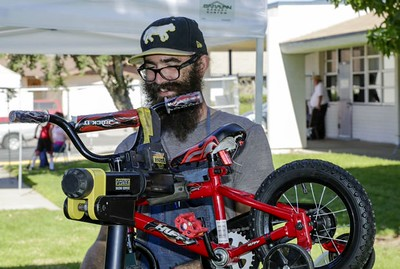 Shawn at work
