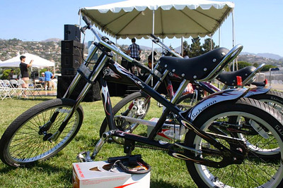 Cool bikes for raffle (photo from FB)