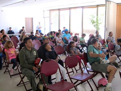 Good attendance & attentive audience