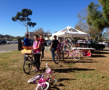FREE bike repair by volunteers from AS Bikes & Bici Centro