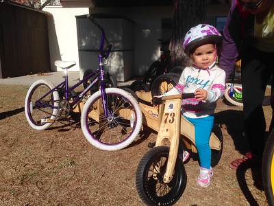 Family Bike Day (UCSB Family Student Housing): Nov 2015