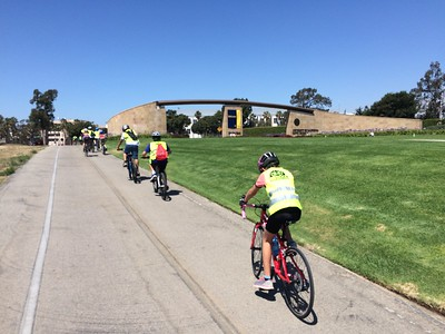 Group ride to UCSB