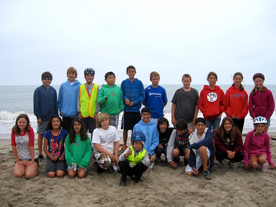 Ride to Goleta Beach (time for a snack & group photo)