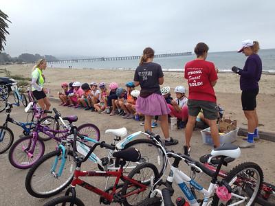 Summer Triathlon training camp with Girls Inc.