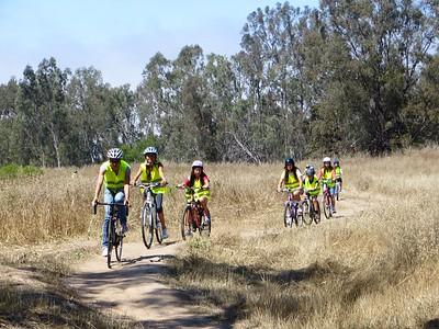 Bike handling skills around Lake Los Carneros