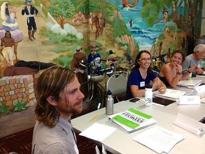 Colin, Karen & Holly at LCI training seminar