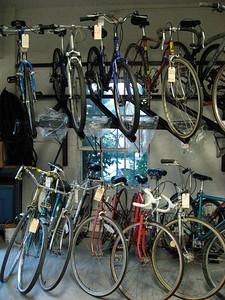 Full rack (bikes for sale)