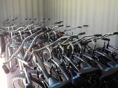 Bicycling unit in PE (Pioneer Valley HS: Santa Maria)