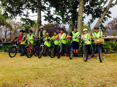 Pedal Power (Carpinteria Family School): Spring 2015