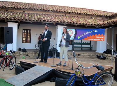Bici Bonita (Bike Fashion Show) at Casa de la Guerra (May 2011)