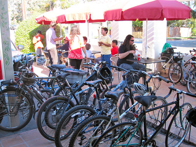 Biker invasion at Super Cucas