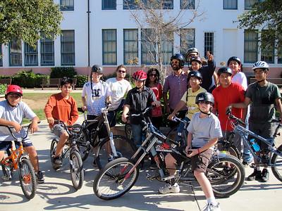 Group photo at SBJH