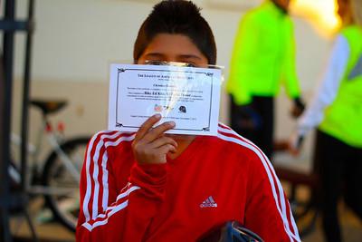 Diploma (photo taken by Michael G)