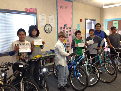 Proud Pedal Power graduates
