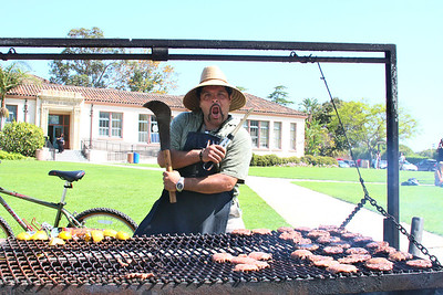 Eddie is in charge of the BBQ for the event at SBHS