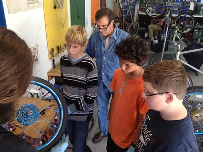 Service Learning (Crane School Winter 2013)