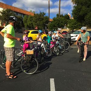 Bike class (Girls Scouts): Fall 2014