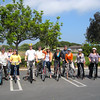 Street Skills Clinics: City of Goleta (June 2012) : MaryJo Alonzo, Management Assistant for the City of Goleta has been promoting the use of a bike for short errands and exercise. For the second time this year, she recruited a group of 12 participants who were interested in attending a 2 hour Street Skills clinic taught by certified League Cycling Instructors from the Santa Barbara Bicycle Coalition. Instruction was based on the curriculum of Traffic Skills 101 from the League of American Bicyclists. It included: understanding rights & responsibilities as a driver operating a bicycle safely and legally on public roadways, developing the ability to identify unsafe traffic situations, learning good bike handling skills and practicing hazards and crash avoidance techniques in order to become a more confident cyclist.  Thank you MaryJo for organizing!  Thank you to Measure A for supporting bike education on the South Coast. http://bicicentro.org/adultclass