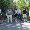 Street Skills (SB Zoo), May 2011 : The Santa Barbara Bicycle Coalition & Traffic Solutions offered 2 Street Skills clinics (Rules of the Road & Bike Handling Skills) to a group of 14 employees at the SB Zoo. Great way to review bike safety and build confidence!  http://bicicentro.org/adultclass
