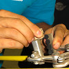 "Learn Your Bike (Summer 2012) : 8 weeks of wrenching: the ""Learn Your Bike"" series covers the full range of Beginner to Intermediate mechanics.  Each week, participants learn a different part of a bike (wheels, derailleur, brakes, bike fit...) Offered since 2008, the bike mechanics series is Bici Centro's most popular class. http://bicicentro.org/adultclass"