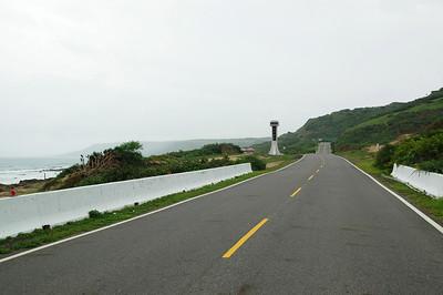 台26佳鵝公路(佳樂水-鵝鑾鼻)段,景色優美,但天氣又開始迅速轉陰了