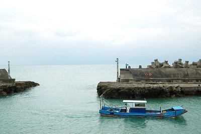 路邊的小漁港