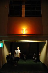 晚上住進由所長介紹轄區東港鎮內的某家汽車旅館