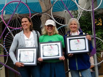 3 extraordinary ladies: Dru van Hengel, Doris Phinney & Eva Inbar