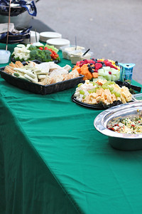 Food provided by Whole Foods Market in Santa Barbara Photo taken by Janessa Schueler